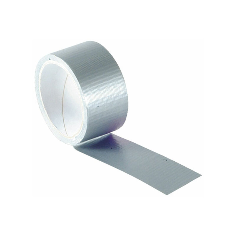 Image of 04695010SITB Power Stik Waterproof Tape 50mm x 10m Silver - Faithfull