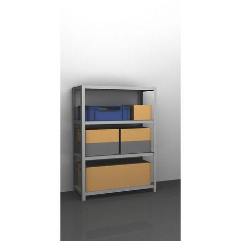 hofe Rayonnage de stockage à boulonner, galvanisé, modèle mi-lourd - hauteur rayonnage 1500 mm, largeur tablettes 1300