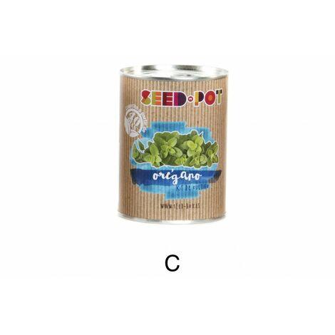 Hogar y más - Kit de cultivo en Lata de Metal. C