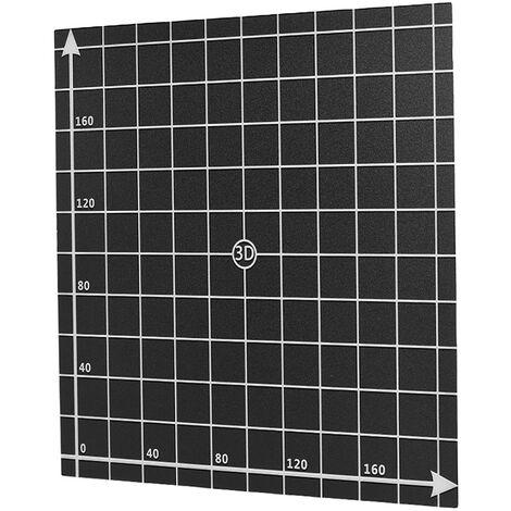 """main image of """"Hoja adhesiva de cama de calor Cinta de superficie de construccion de plataforma de cama caliente con coordenadas 1: 1 para impresora 3D Creality CR-10 / CR-10S"""""""