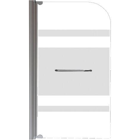 HOJA DE BAÑERA serigrafia OLAME Simple Dimensiones : 80x140 cm - Aqua +