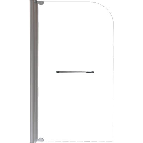 HOJA DE BAÑERA transparente KENDRA Simple Dimensiones : 80x140 cm - Aqua +