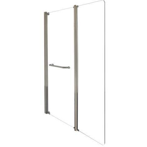 Hoja de Bañera transparente SANDRA Doble Dimensiones : 80+40x140 cm