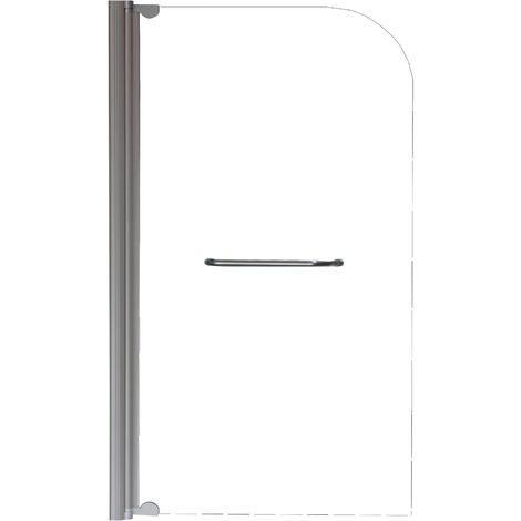 HOJA DE BAÑERA transparente SANDRA Simple Dimensiones : 80x140 cm - Aqua +