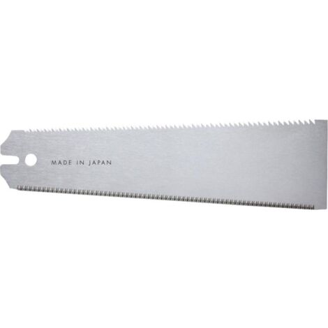 Hoja de recambio, para sierra japonesa Ryoba con asa plástico y - Hoja de sierra plegable, longitud de Hoja 240 mm, Espesor de Hoja 0,5 mm