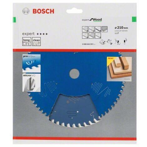 Hoja De Sierra Circular Ex Wo H 210X30-56 - Bosch