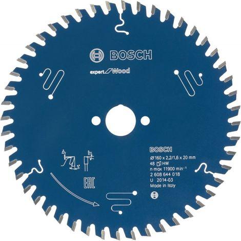 Hoja de sierra circular Expert 190x30x2,6 56T Bosch