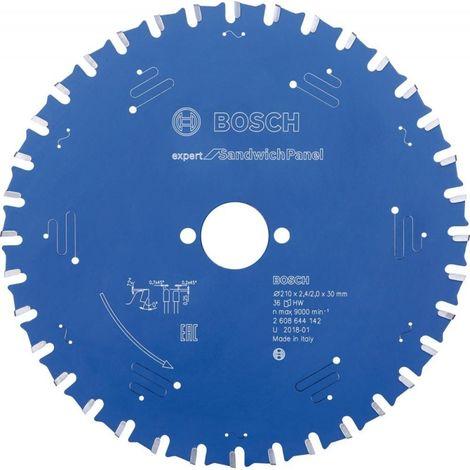 Hoja de sierra circular.Expert SP 210x2,4x30mm Z36 TF Bosch