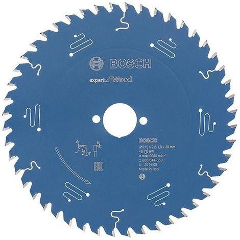 Hoja de sierra circular.Expert W 210x2,8x30mm Z48 W Bosch