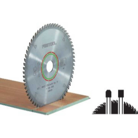 Hoja de sierra especial 225x2,6x30 TF64 Festool