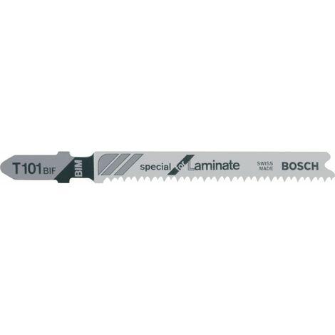 Hoja de sierra sable 5 unidades T 101 BIF Bosch