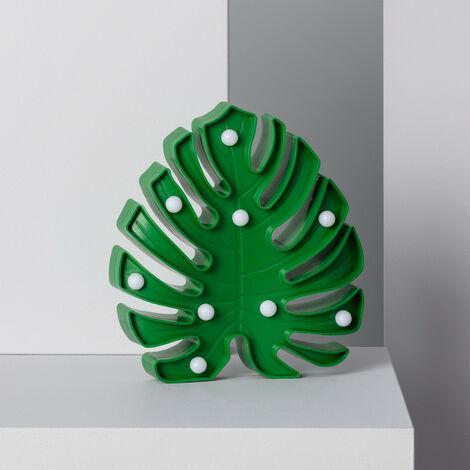 Hoja LED Verde