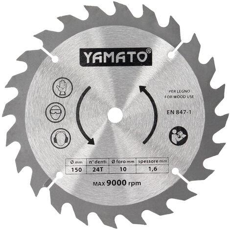 Hoja Recambio Para Sierra Circular Yamato 53154 (Codigo 07200315)
