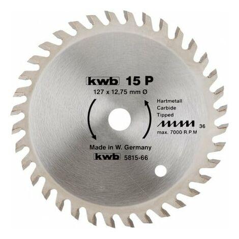 Hoja Sierra circular Precisión 210 x 30mm Z64 KWB