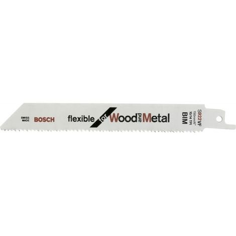 Hoja sierra sable de 25 unidades S 922 VF Bosch