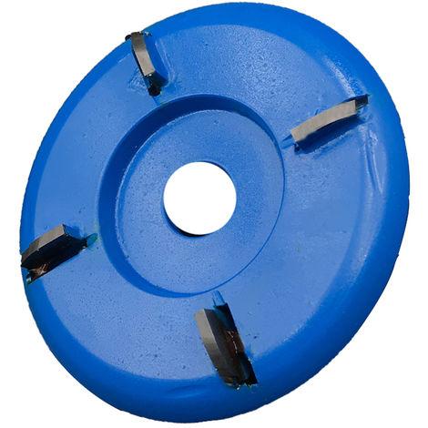 Hoja turbo curvada, para amoladora angular de apertura de 16 mm, 4 dientes
