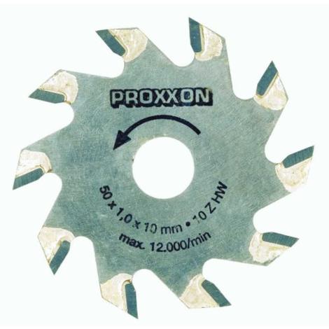 Hojas de sierra con puntas de tungsteno de Ø 50 x 1.1mm Proxxon