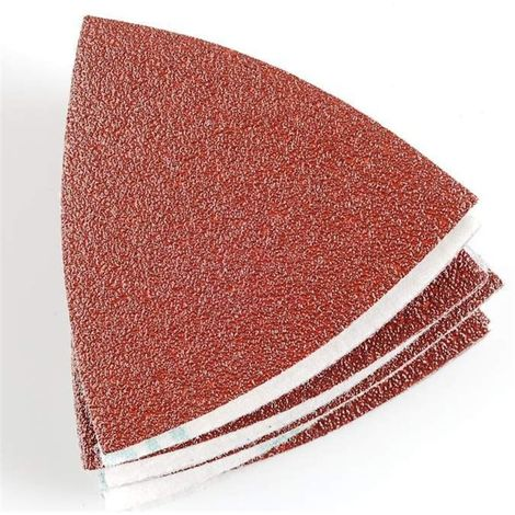Hojas lijadoras lijadora triangular OZI. Grano 80