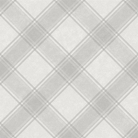 Holden Decor Aiden Check Grey Wallpaper