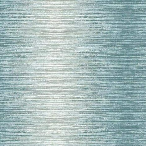 Holden Decor - Arlo Vertical Striped Wallpaper - Teal 65443