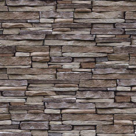 Holden Decor K2 Wallpaper Stone Effect Natural 12260