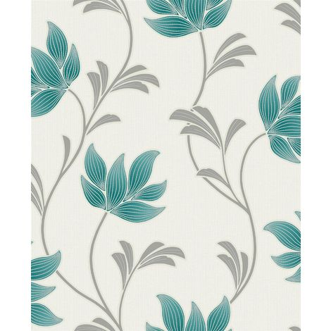 Holden Decor Lottie BV Teal Wallpaper