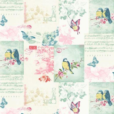 Holden Decor Songbird Wallpaper Multi Colour