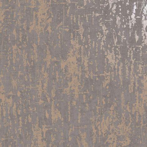 Holden Urban Loft Industrial Concrete Stone Texture Wallpaper - Dark Slate 12932