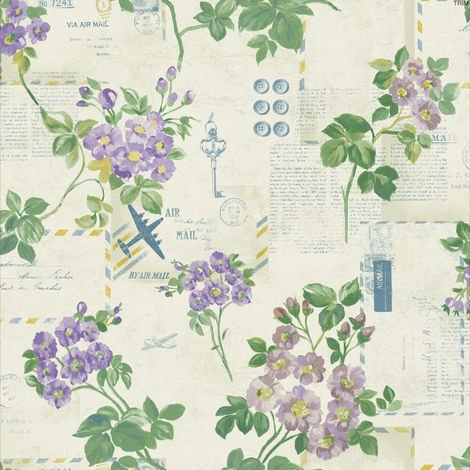 Holden Wallpaper Athene Lilac 98332