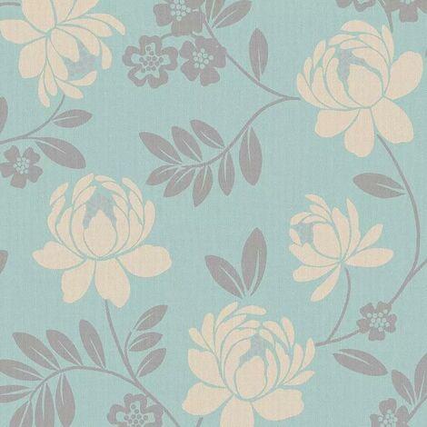 Holden Wallpaper Chloe Teal 12310