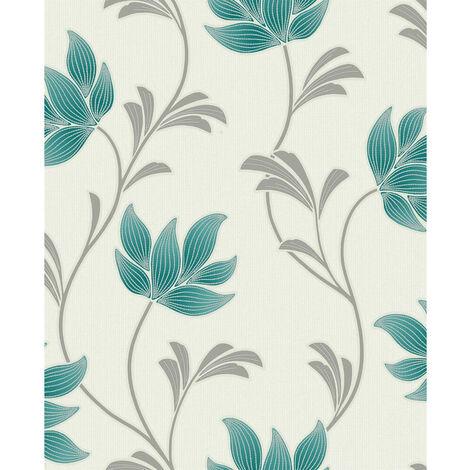 Holden Wallpaper Lottie Teal 75802