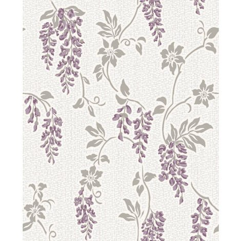 Holden Wallpaper Shiro Heather White 75681