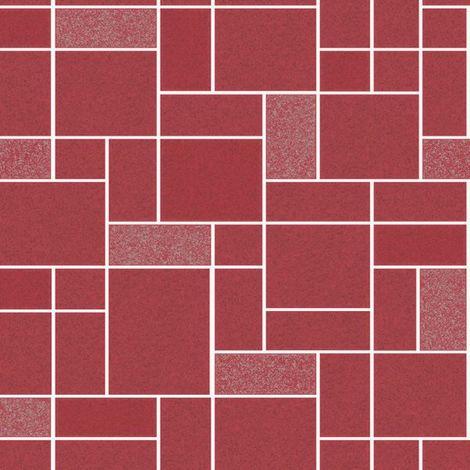 Holden Wallpaper Winchester Tile Red 89292