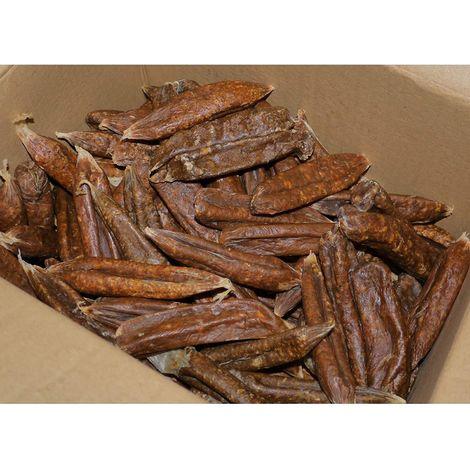 Hollings Dried Sausage Dog Treats (3kg) (Brown)