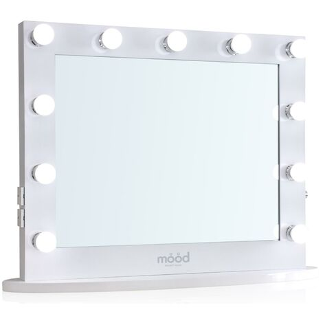 Hollywood Mirror 65 x 80cm, Dressing Table or Wall Mounted, Vanity Mirror