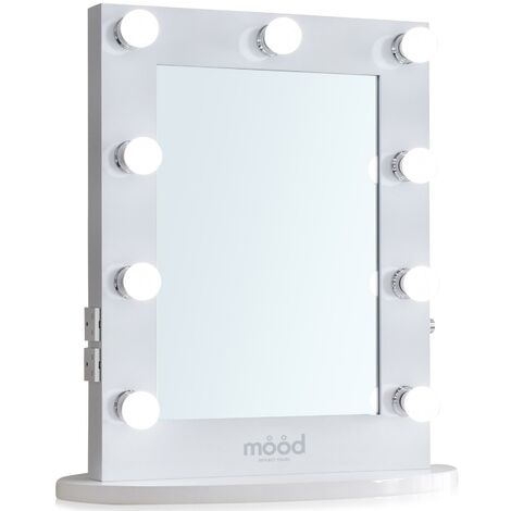Hollywood Mirror 65cm x 50cm, Dressing Table or Wall Mounted, Vanity Mirror