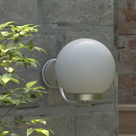 """main image of """"Holm Outdoor Wall Light by Brayden Studio - White"""""""