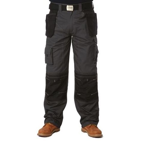 Holster Trousers Black & Grey
