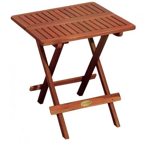 Klapptisch Massivholz.Holz Klapptisch 50x50cm M980081