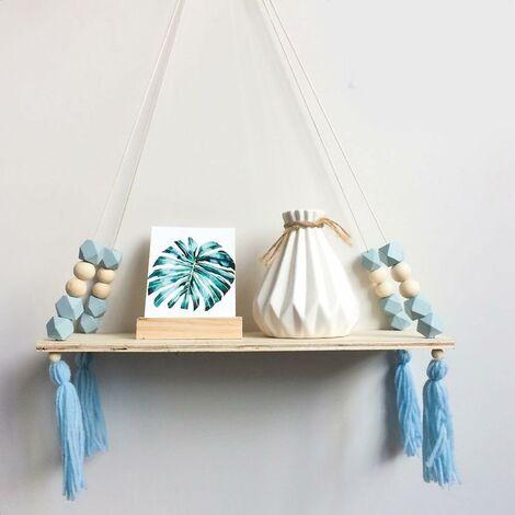 Holz Lagerregal, Stilvolle Trendy Regal, Bücherregal, Pflanzen Rack, Wandregal Regal für Baby Zimmer/Home / Wohnzimmer/Bad