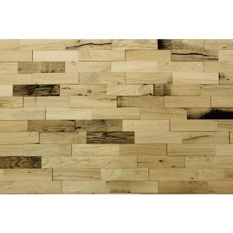 Holz Wandverkleidung Eiche Altholz Echtholz 3d Optik 1m²