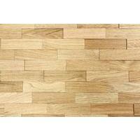 Holz Wandverkleidung Eiche Natur Echtholz | 3D-Optik | 1m² Holzwand Holzpaneele Eichenholz