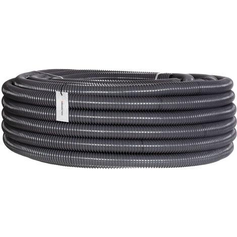 HOLZBRINK Teichschlauch Spiralschlauch PVC Saugschlauch verstärkt, HVS