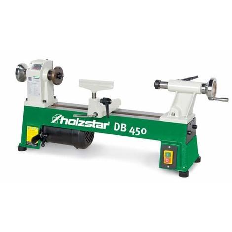 Holzkraft - HOL5920450 - Piccolo Tornio Per Legno Modello DB 450 - Max Diametro Tornibile 254 Mm