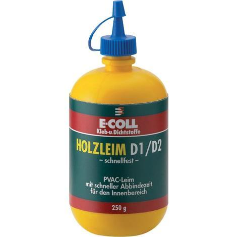 Holzleim D1/D2 schnellfest 750g E-COLL 4317784313513 Inhalt: 6