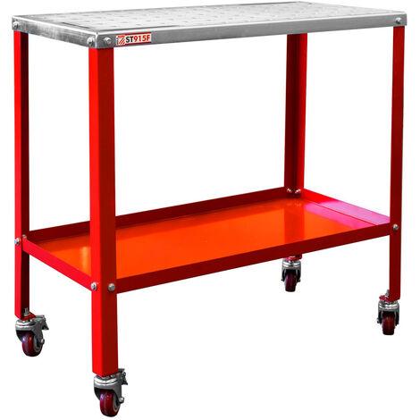 Holzmann Table de soudage ST915FPRO - 91,5 x 46 x 89 cm - 540 kg - Mobile