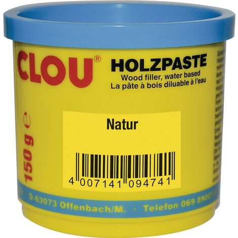 Holzpaste Farbe 01 natur 150g Dose CLOU
