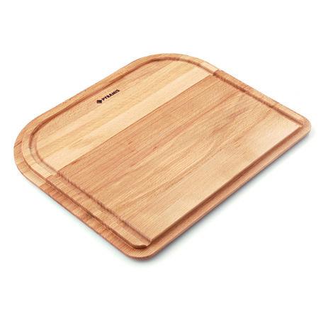 Holzschneidbrett für Becken 40x40 cm, Buche