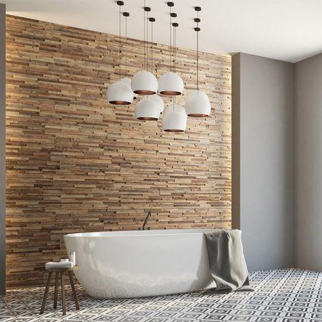 Holztapete Taiga Dekorative Holzplatte Holzwandverkleidung 1m²