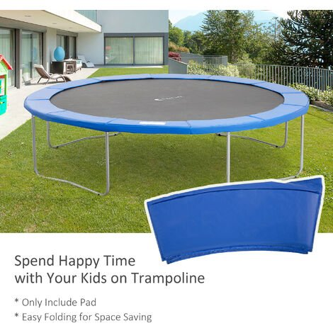 Homcom 12ft Trampoline Pad Surround Pad Replacement Spare - Blue